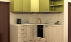"Kitchen ""Bertoni-L shape"""